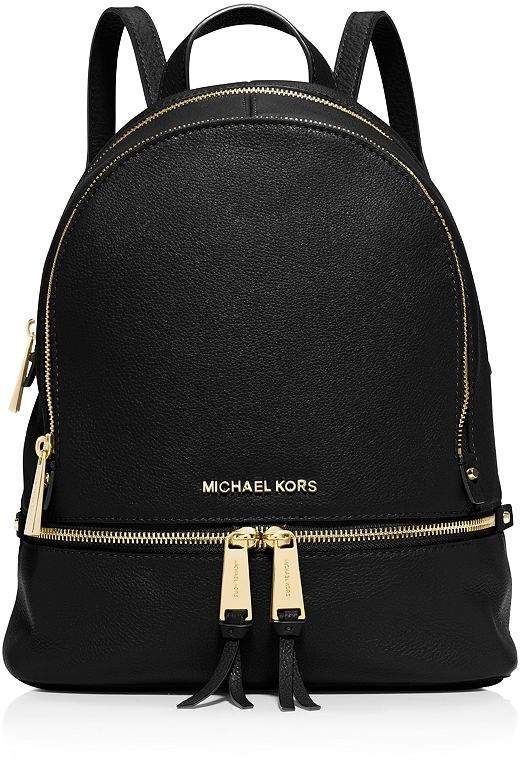 f631174e6915 Rhea Zip Small Leather Backpack in 2019   Products   Michael kors ...
