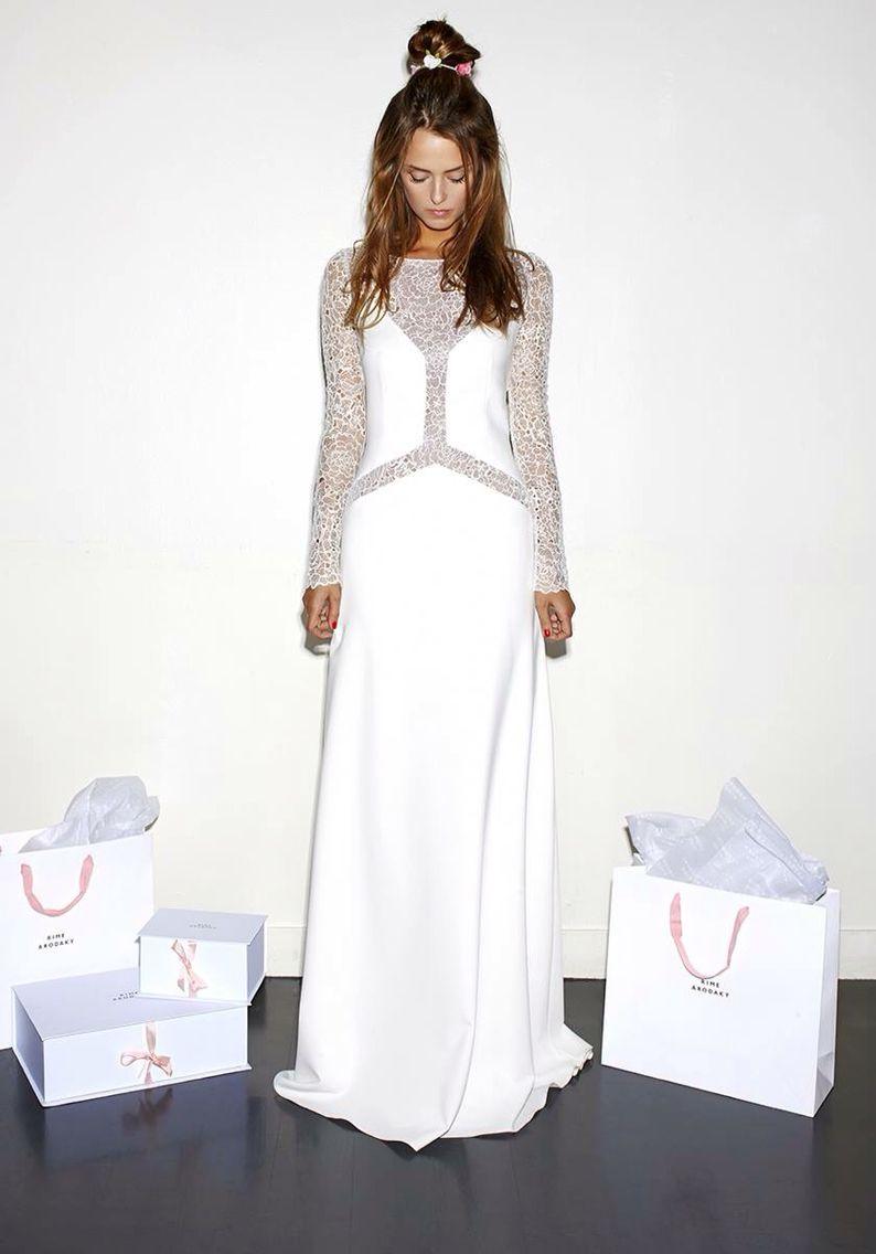 Sarah burton wedding dress  Rime Arodaky  MILLER  My dream weeding  Pinterest  Rime arodaky