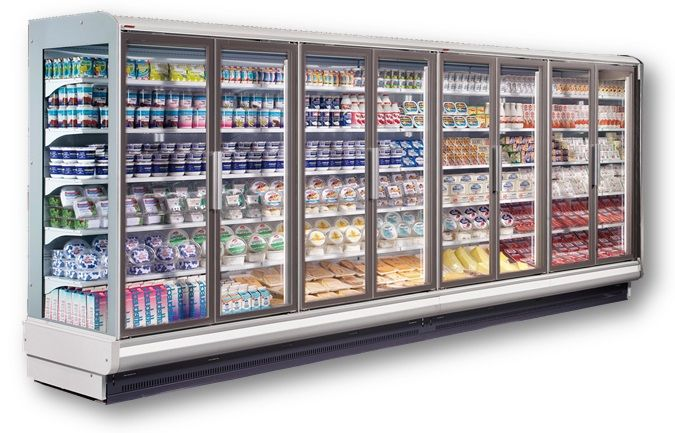 Supermarket Display Line Top Quality Commercial Refrigeration