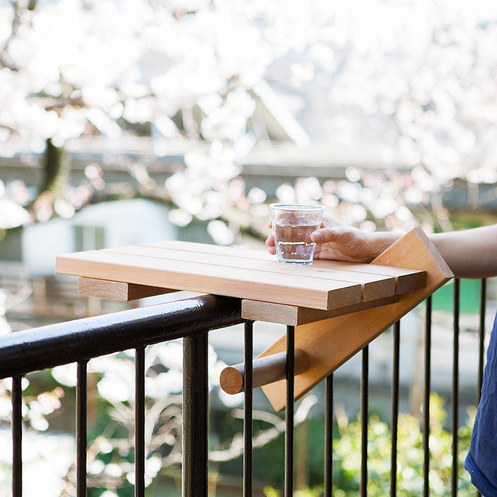 10 Easy Pieces: Balcony Tables for Railings | Balcony furniture ...