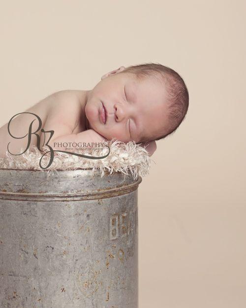 One of my favourite milk jugs edmonton newborn photography