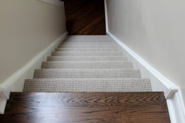 Berber Carpet On Stairs Hardwood Upstairs And Down Carpet | Berber Carpet For Stairs | Decorative | Waterfall Stair | Sophisticated | Durable | Master Bedroom