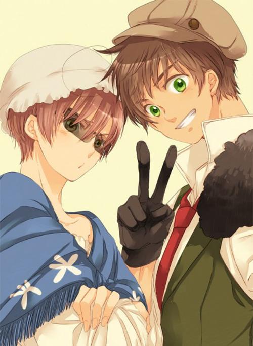 Romano and Spain in Halloween romano, cute (มีรูปภาพ)