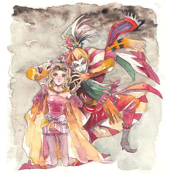 Terra & Kefka