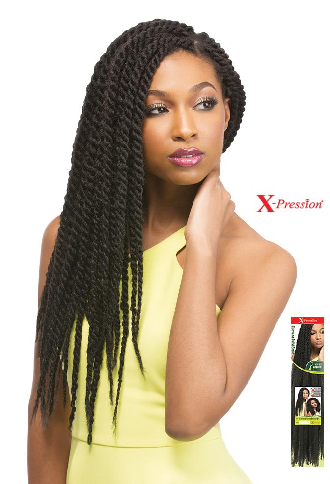 Meches X Pression Cuevana Twist Braid En 2018 Coiffures Afro