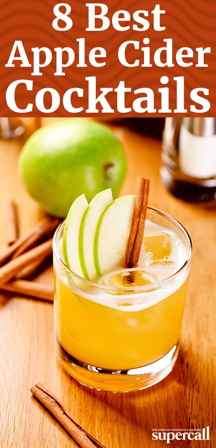 12 Apple Cider Cocktails to Get You Through Fall #spikedapplecider