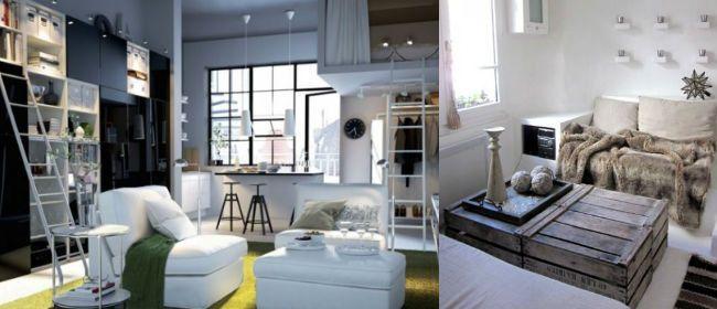 petits espace comment gagner de la place dans son sjour salon bureau - Comment Amenager Son Salon Salle A Manger