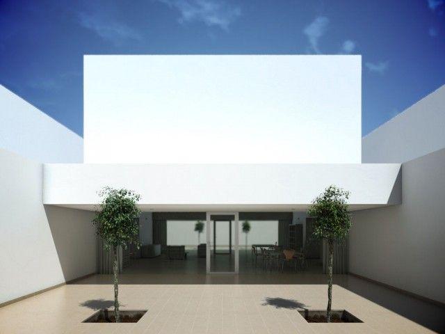 casas minimalistas casa guerrero alberto campo baeza