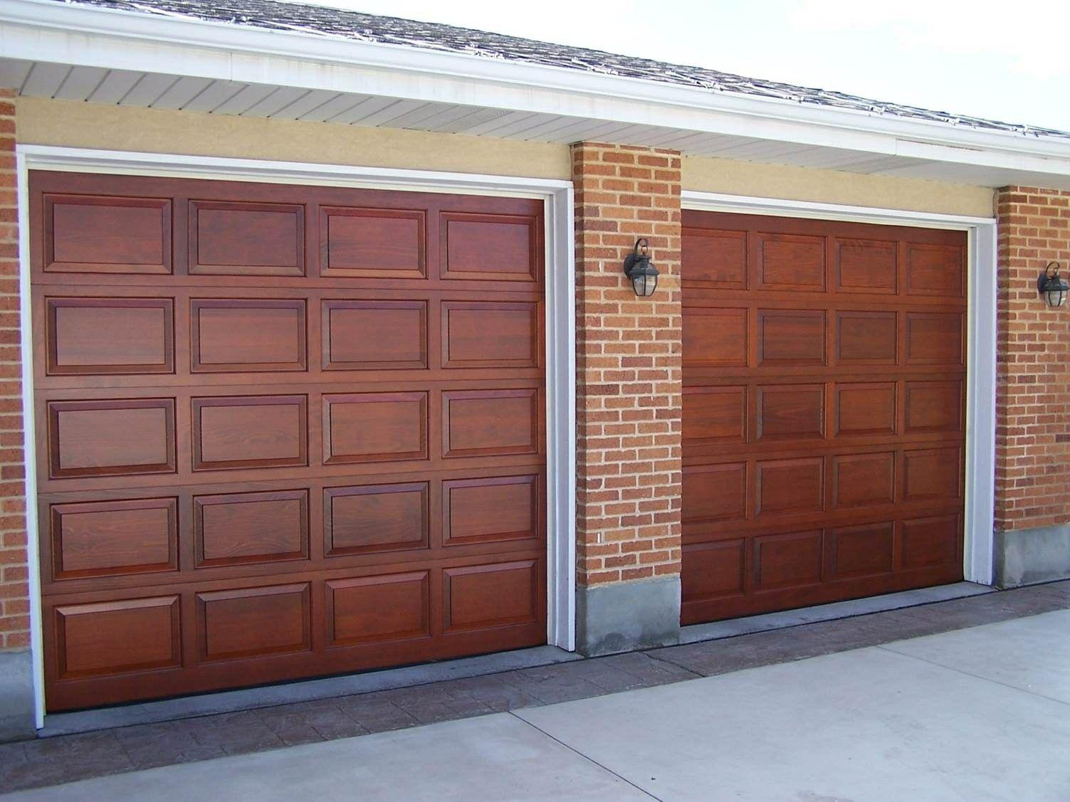 Steel Garage Door That Look Like Wood Crawford Door In Utah Wood