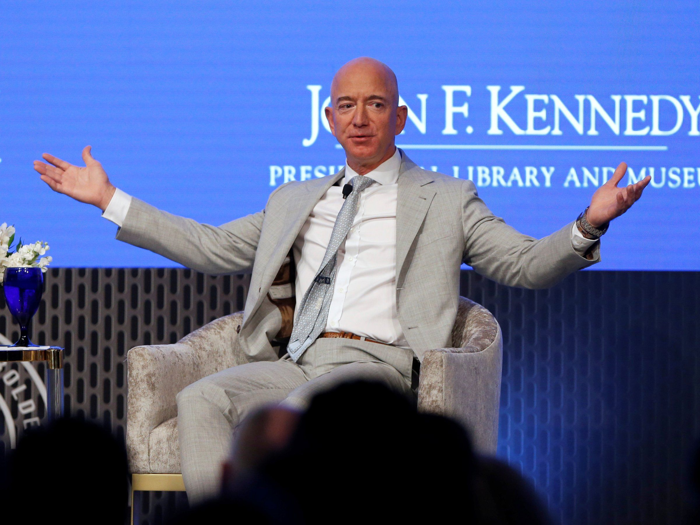 Jeff Bezos just sold 1.8 billion in Amazon stock. Here's