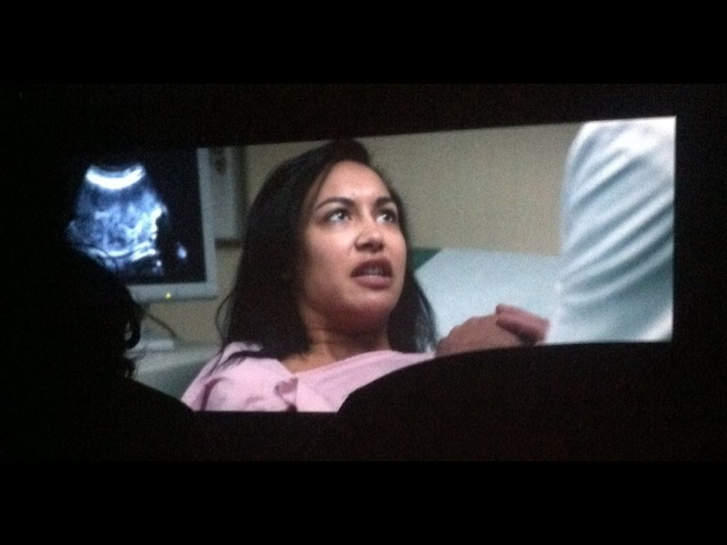 Naya in her new horror movie