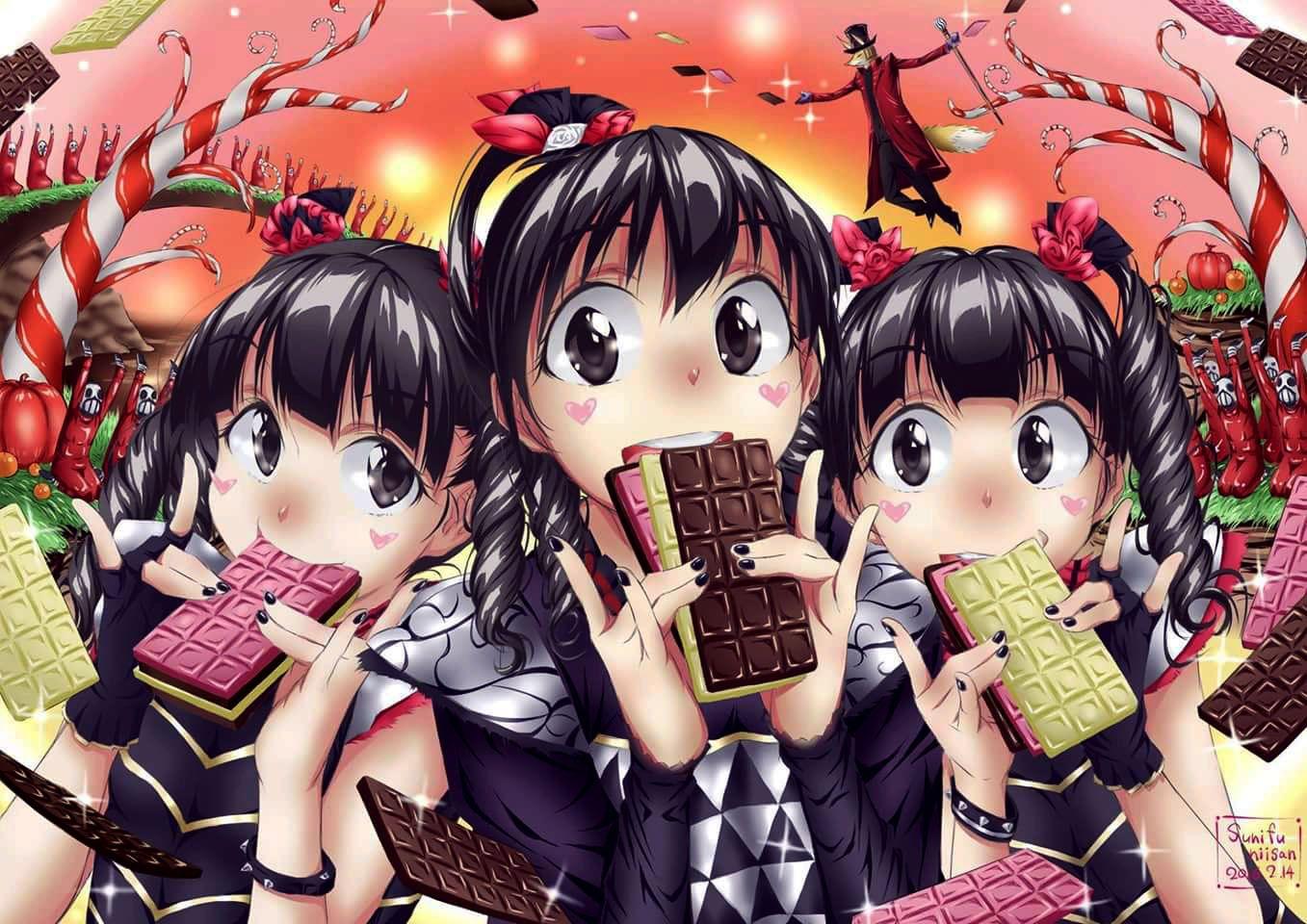 Gimme Chocolate By Sunifu Niisan 2016-02-14 #Babymetal - #YuiMetal ...