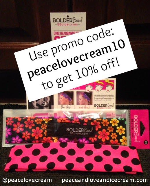Peace, Love and Ice Cream!: {BOLDER BAND GIVEAWAY} Be Bold, Be Beautiful, Be YOU! I'm hosting a Bolder Band Head Band giveaway! They're awesome! And if you don't win won, use peacelovecream10 for 10% off your purchase! Colorful prints, great fabrics, 4 sizes to choose from! They're a must-have!