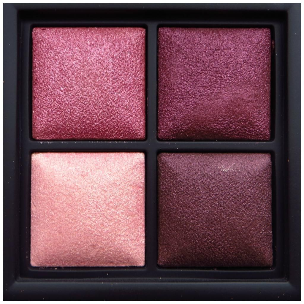 MAC Trax eyeshadow is a burgundy plum with gold shimmer