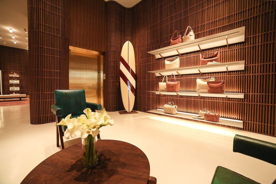 David Chipperfield Designs Bally Flagship Store In Beverly Hills