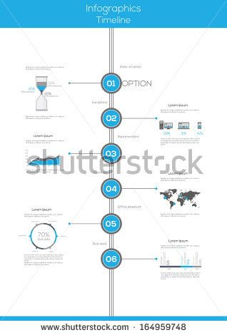 Best Vertical Timeline Infographics  Google Search  Ideas For