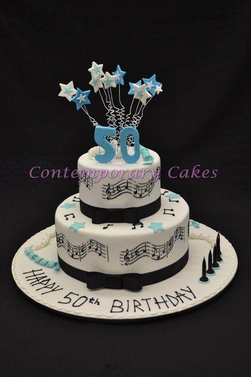 Groovy Music Themed Cakes August 2012 50Th Birthday Cake Who Has A Love Birthday Cards Printable Benkemecafe Filternl