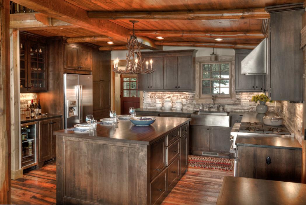 renovation preserves memories in a rustic lake cabin even more