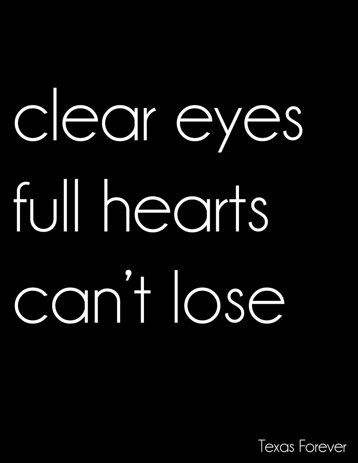 Smashing Style Friday Night Lights Clear Eyes Happy Sunday Quotes Friday Quotes Funny