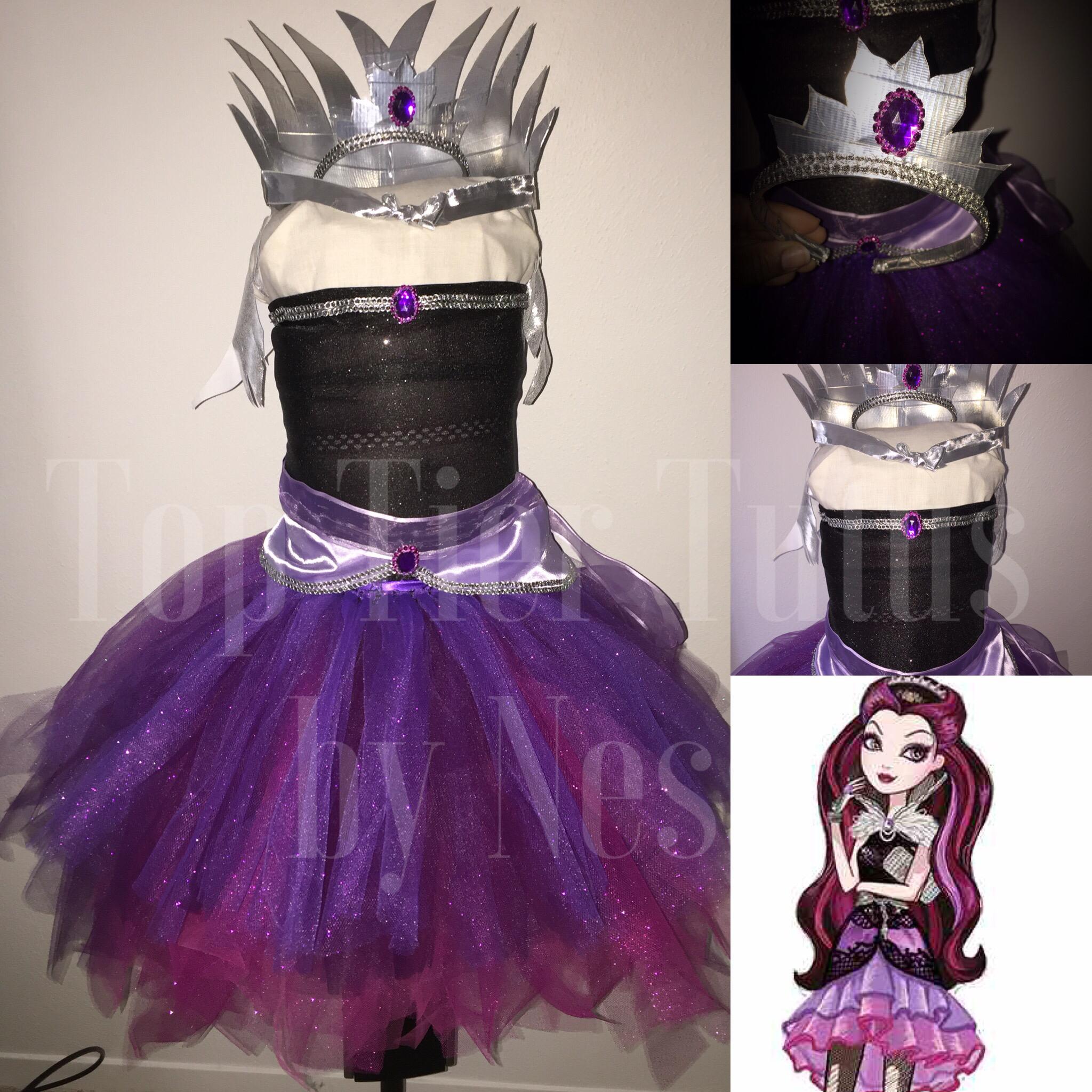 Ever After High Raven Queen costume | Top Tier Tutus | Pinterest ...
