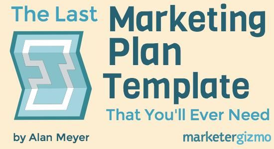 The Last Marketing Plan Template YouLl Ever Need  Marketing