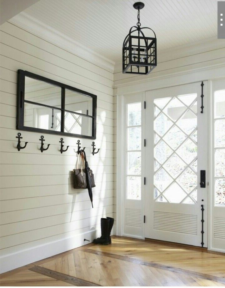 Shiplap Walls Beadboard Ceiling Beadboard Wainscoting And | Lake House  Renovation Ideas | Pinterest