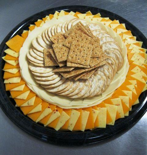 Cracker & Cheese Tray | Food, Cheese, cracker tray, Food