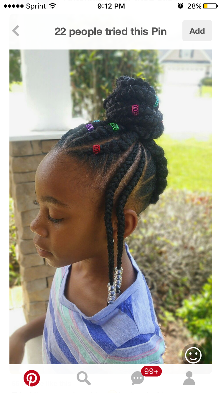 Pin by asia ddavis on protective styles for kids pinterest