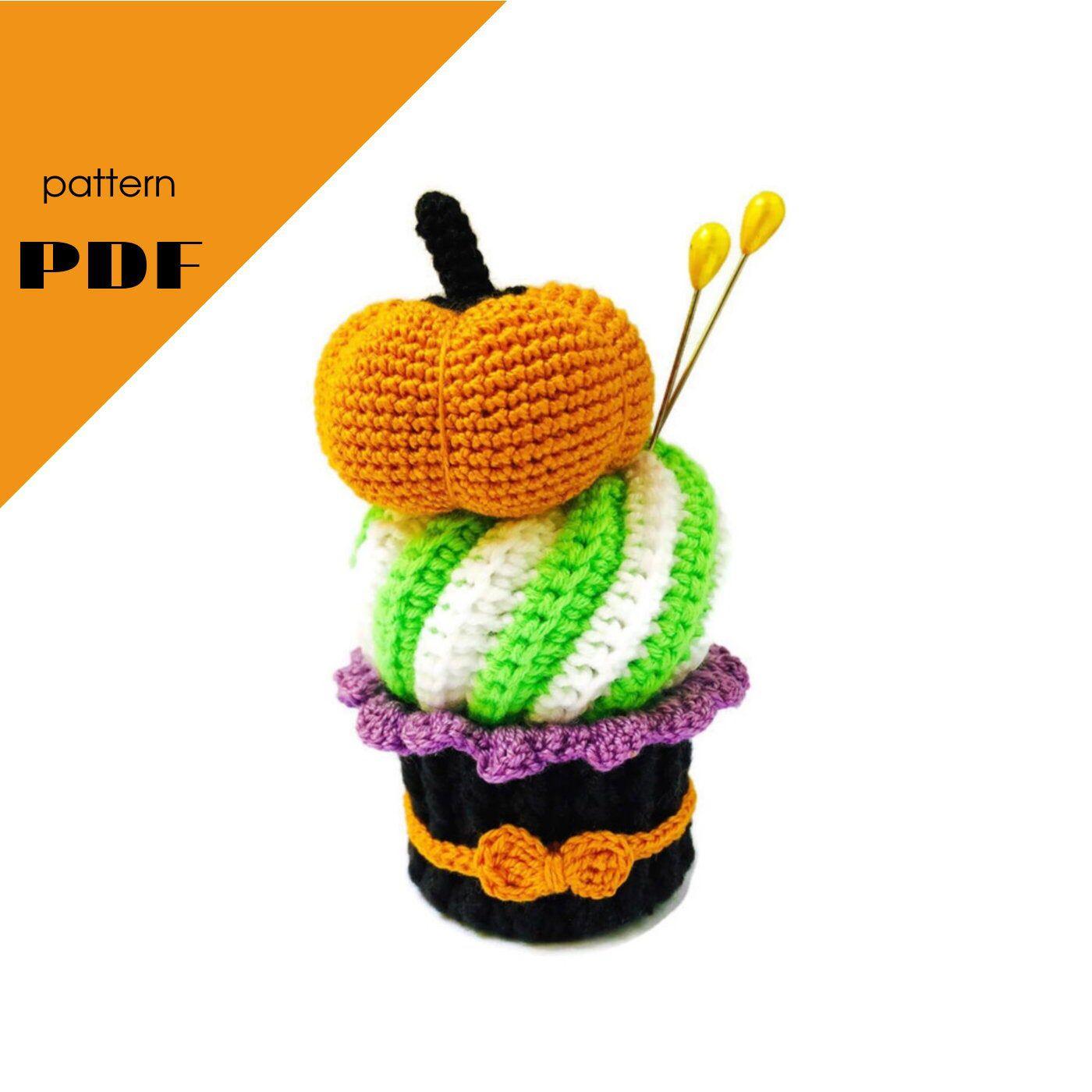 Amigurumi food - pattern - Crochet cupcake - Amigurumi ...