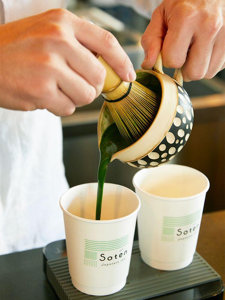 こだわり抹茶ラテを求めて 西荻窪にある日本茶専門店 Saten Japanese Tea に注目 抹茶ラテ 日本茶 抹茶