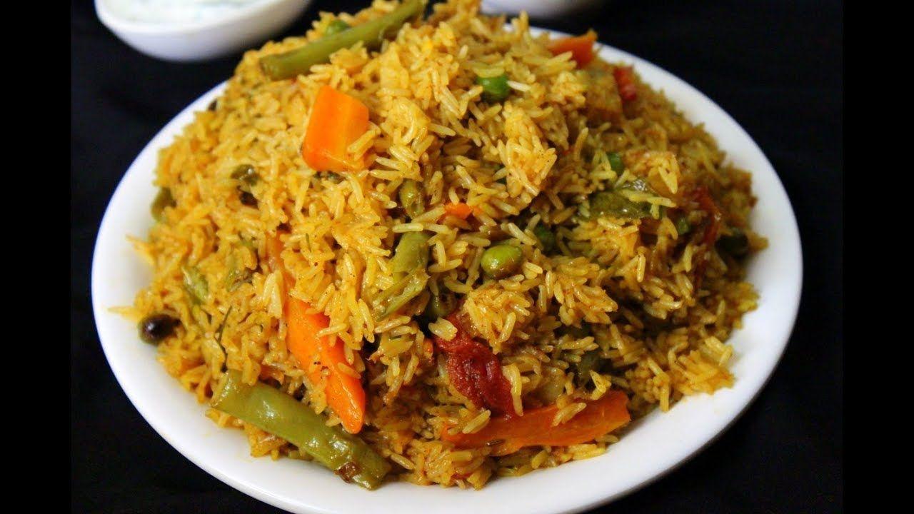 Quick vegetable biryani vegetable biryani in pressure cooker hindi quick vegetable biryani vegetable biryani in pressure cooker hindi pre forumfinder Images
