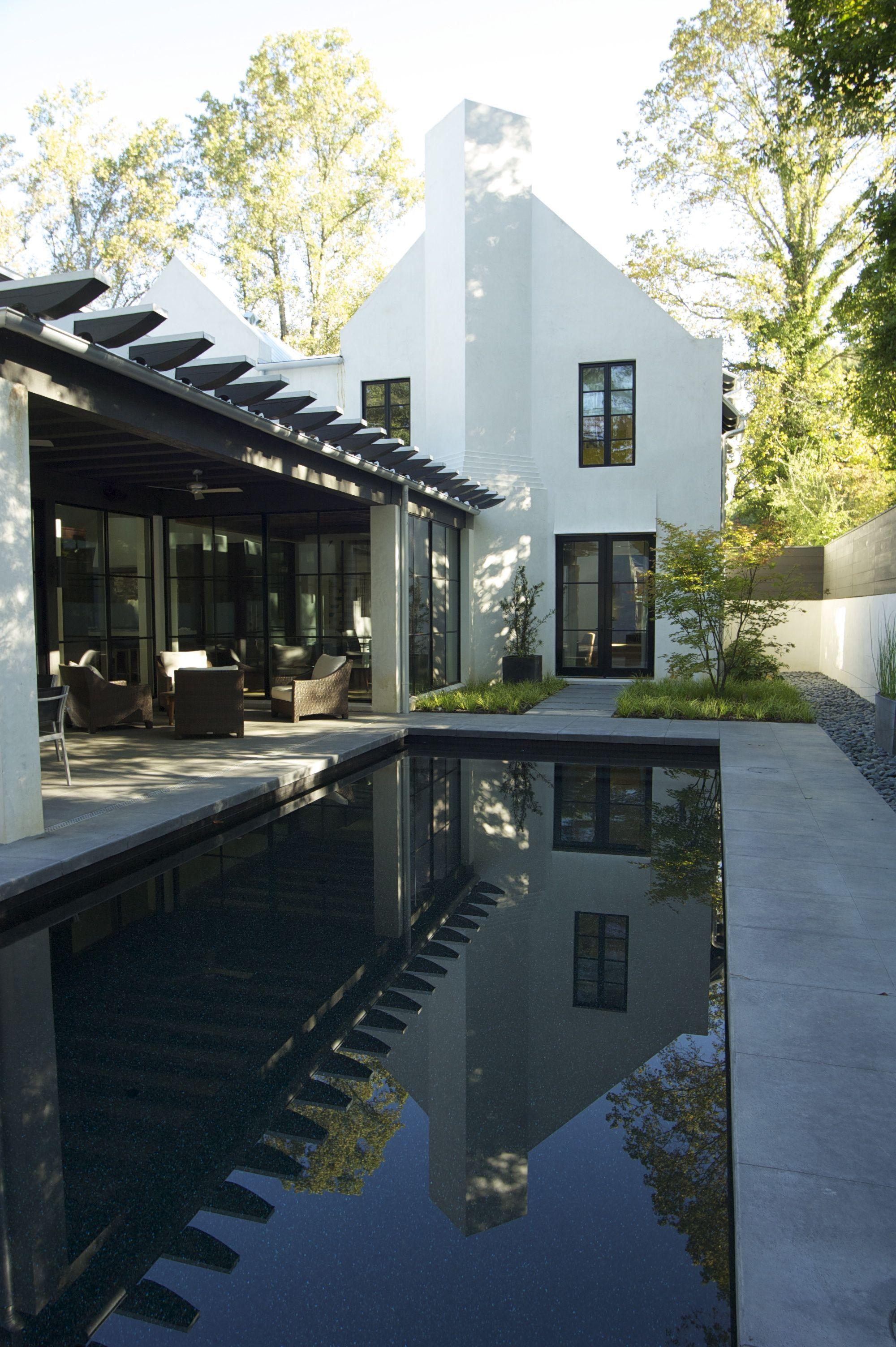 Home Exterior Design Modern Pools House Exterior