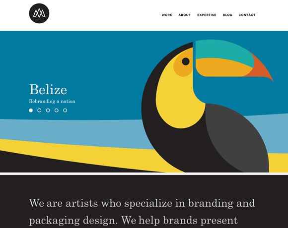 13 Beautiful Examples Of Bold Colors In Web Design Web Design Ledger Web Design Web Design Color Web Design Examples