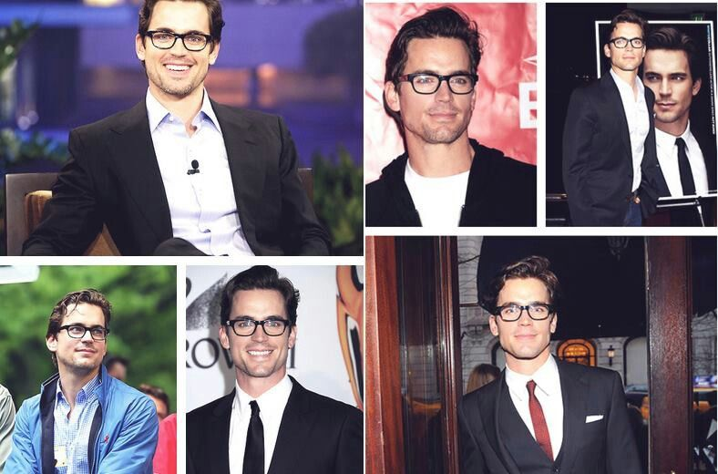 Even glasses make him look gorgeous