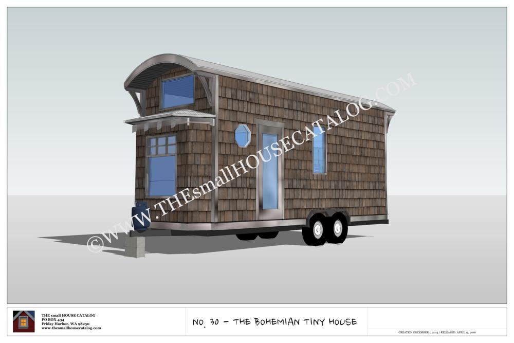 30 The Bohemian Tiny House On