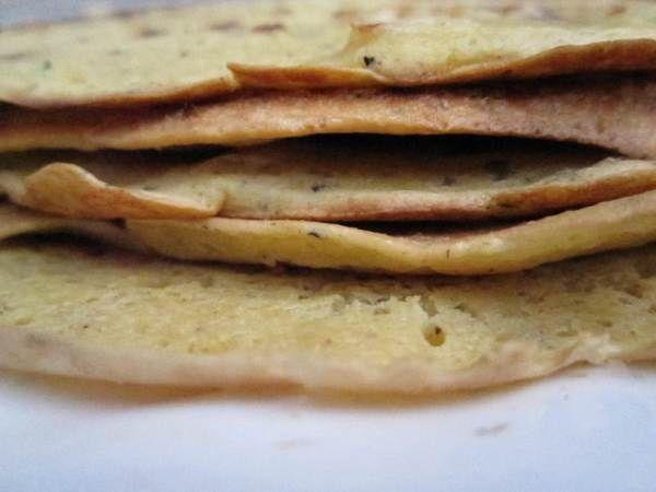 Chickpea Tortillas - still experimenting on them.