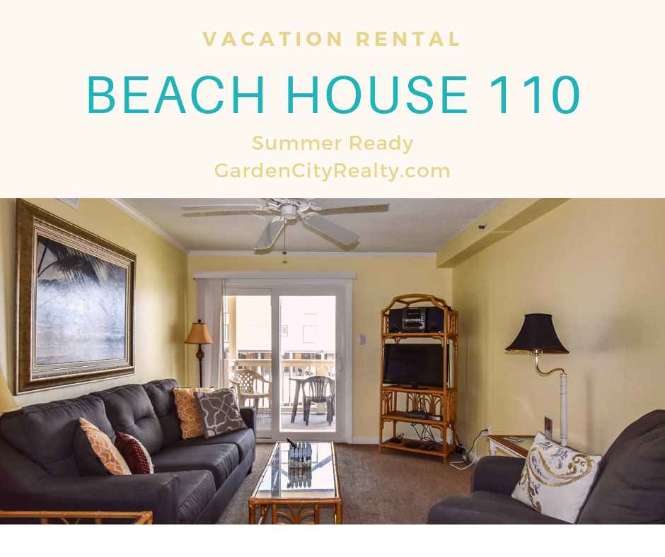 Beach House 110 is a twobedroom, twobath ocean view