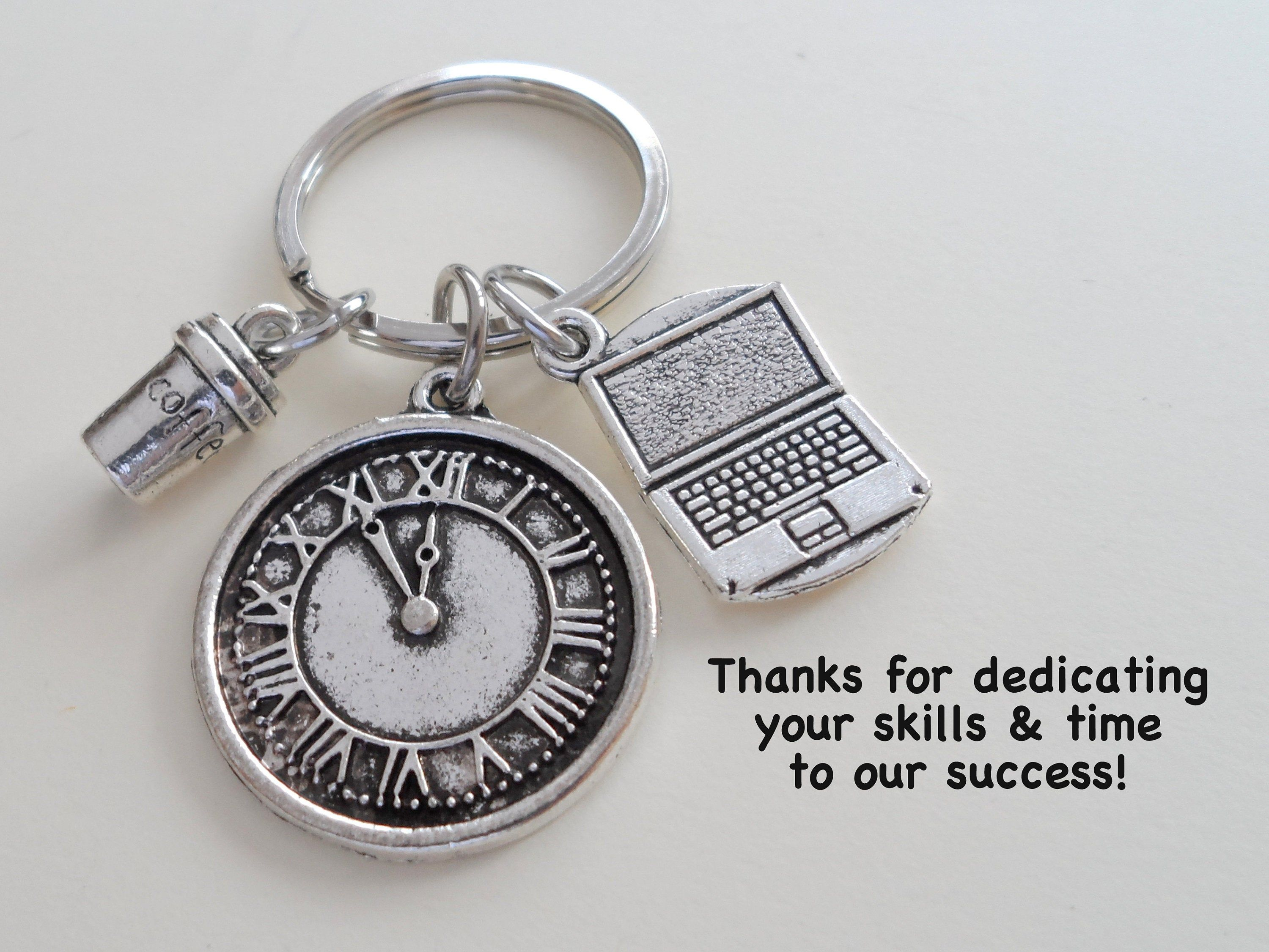 Executive assistant gift keychain office assistant gift