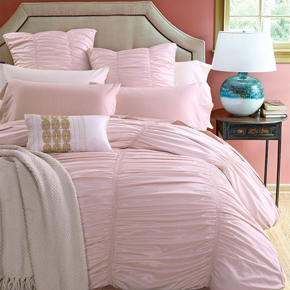 Teen Girls Pink Dusty Pink Rose Bedding Sets   Ease Bedding With Style