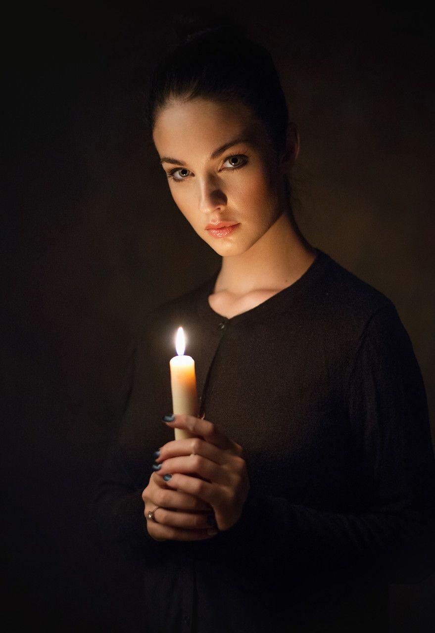 как фотографировать при свете свечи берет десантника
