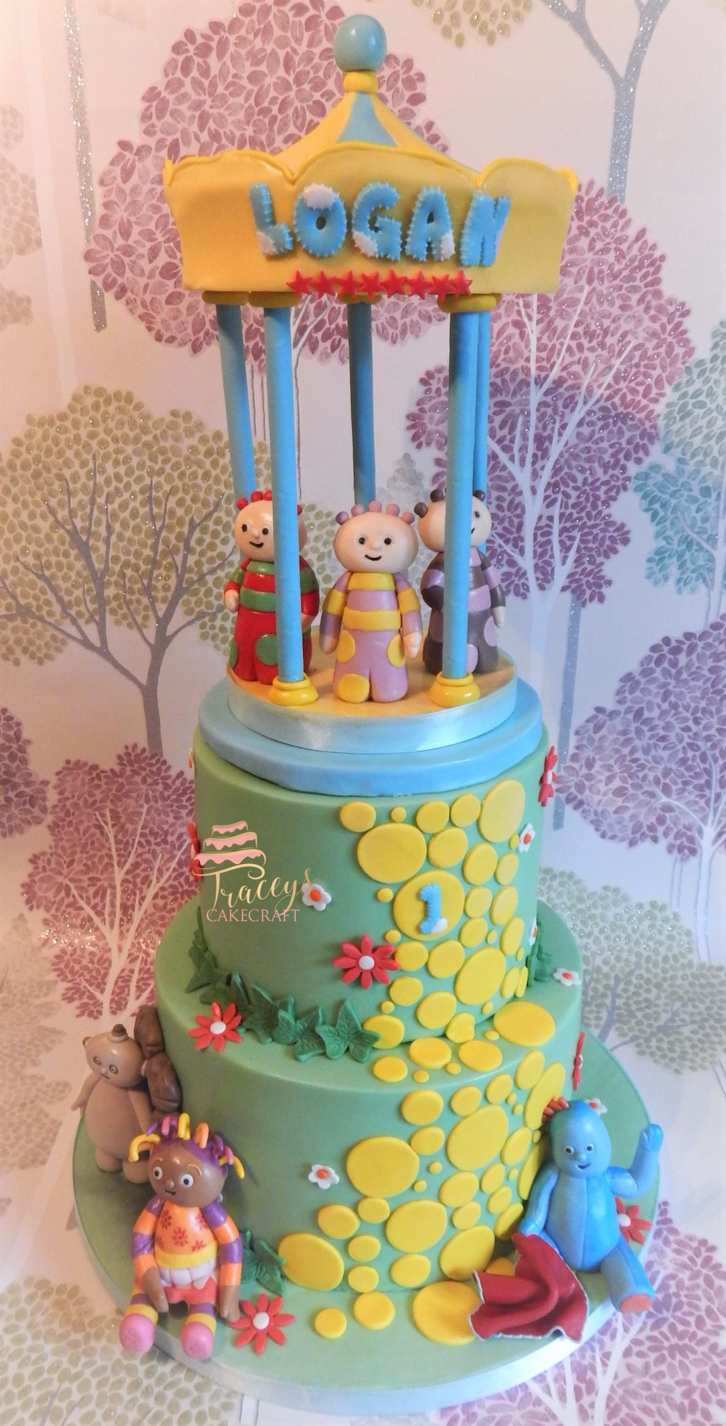 In the Night Garden cake Dairy Free