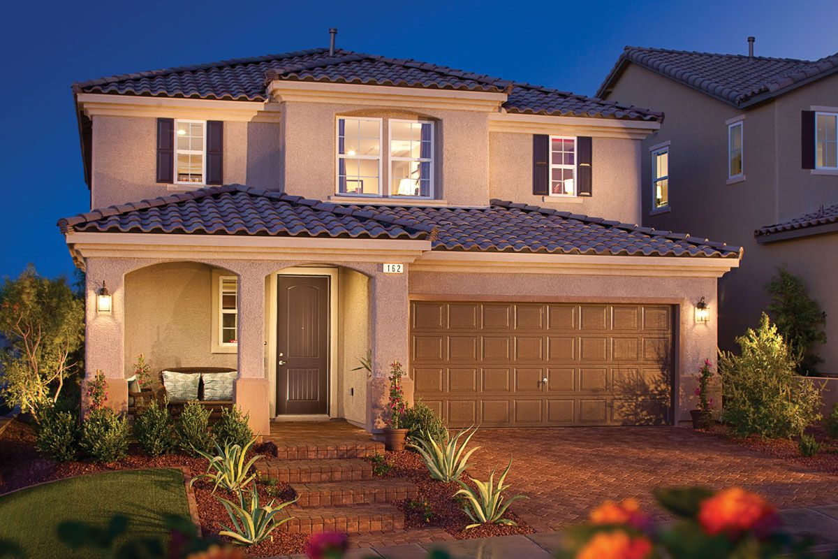 Pin By Funkyfabu Daprettyone On My Neighborhood Nevada Homes Kb Homes New Homes Las Vegas