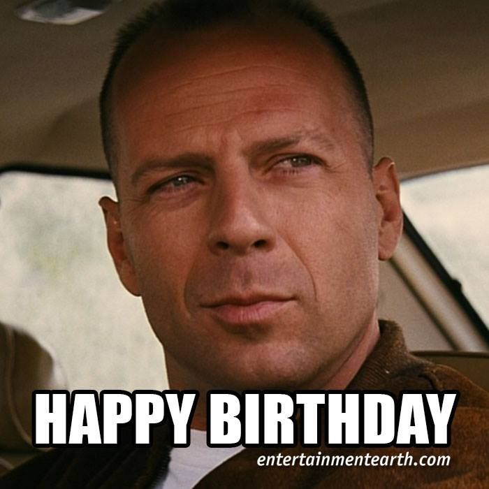 Happy 60th Birthday To Bruce Willis Of Pulp Fiction Shop Pulpfiction Collectibles Http Q Entertainmentearth Com Happy 60th Birthday Pulp Fiction Fiction