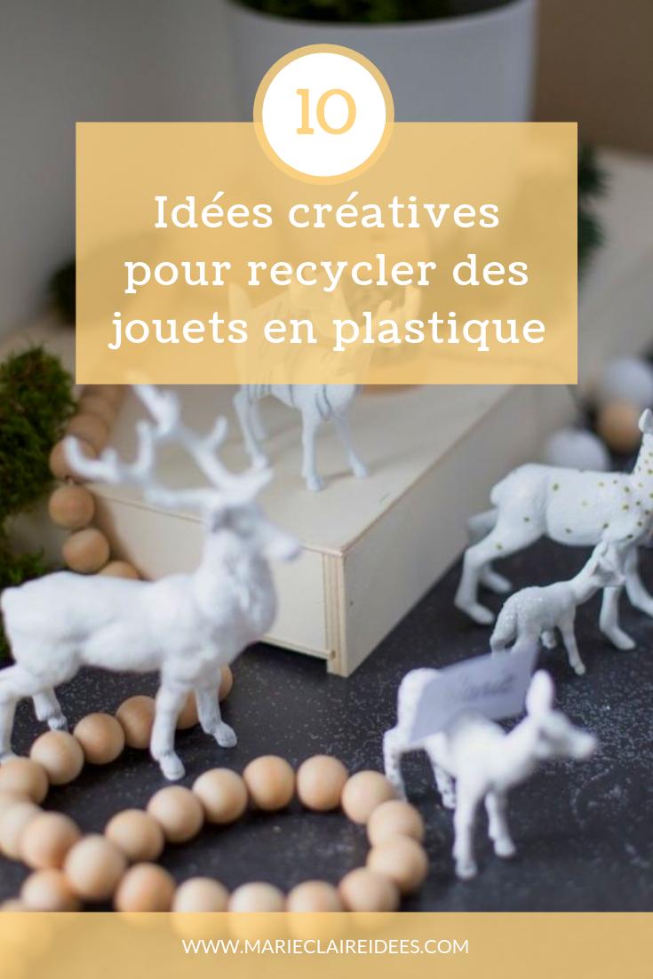 Animaux En Plastique Jouet 10 idées créatives pour recycler des jouets en plastique