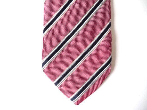Vintage Men Necktie, Silk Bordeax Burgundy Blue White Tie, Man Accessories, Stripes Design #necktie #red #blue #vintage #vintagenecktie #men #man #vintageaccessories #mengifts #mangifts #manaccessories #stripes #geometric #geometricdesign #tie #vintagetie #retro #vintagefashion #menfashion #manfashion #retronecktie #silk #silknecktie #burgundy #bordeaux