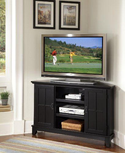 Home Styles Arts Crafts Corner Entertainment Tv Stand In Black