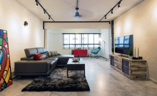 Project By Icon Interior Design Pte Ltd Interiordesign Livingroom Renovation Cosy