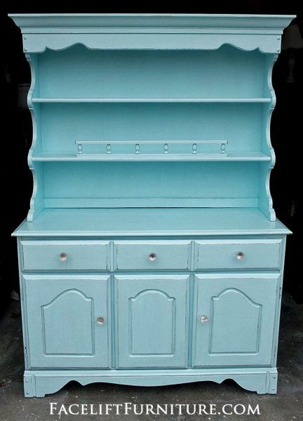 Beau Maple Hutch In Robinu0027s Egg Blue. From Facelift Furnitureu0027s Robinu0027s Egg Blue  Furniture ...