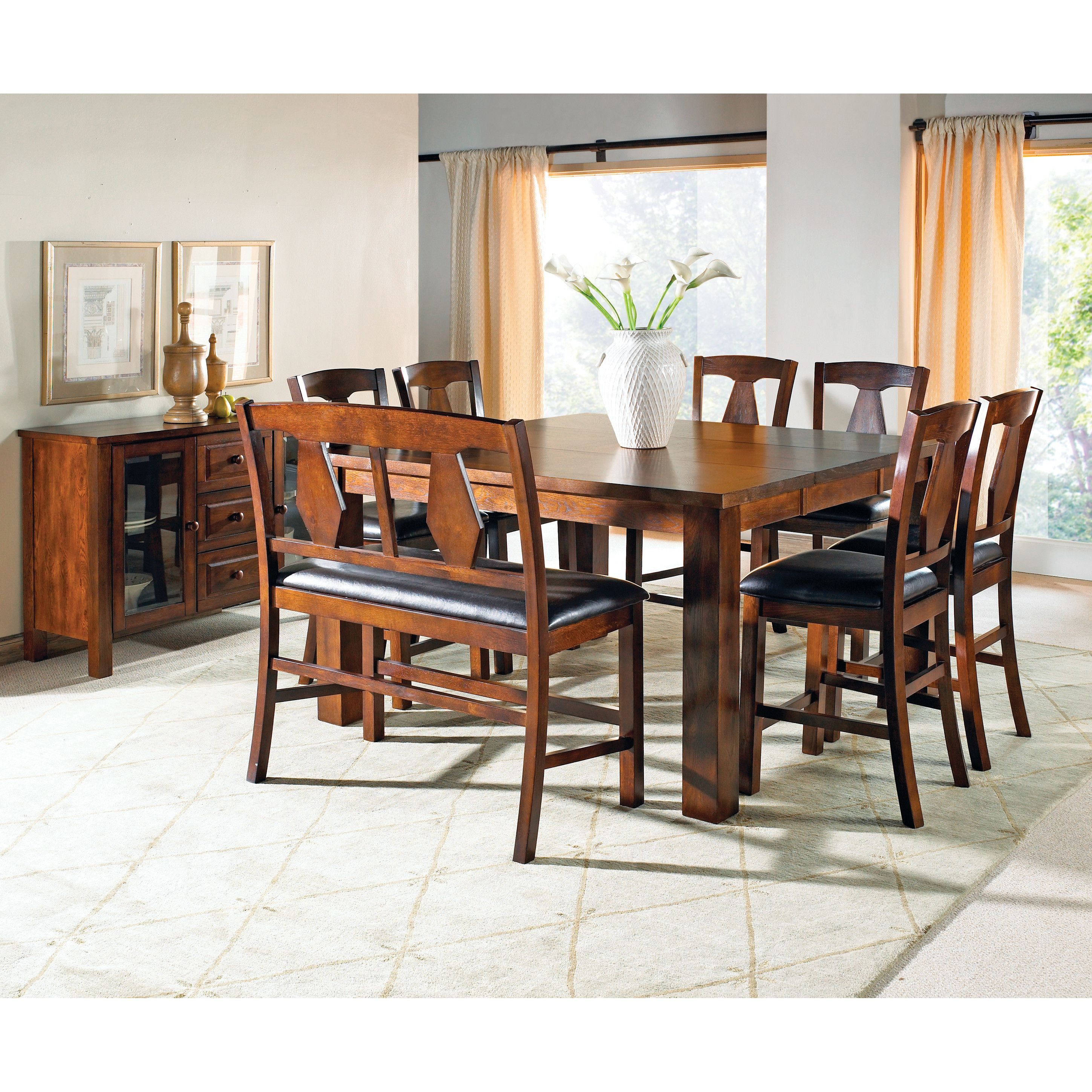 Three Posts Plainville 8 Piece Dining Set & Reviews  Wayfair Fascinating 8 Piece Dining Room Set Inspiration