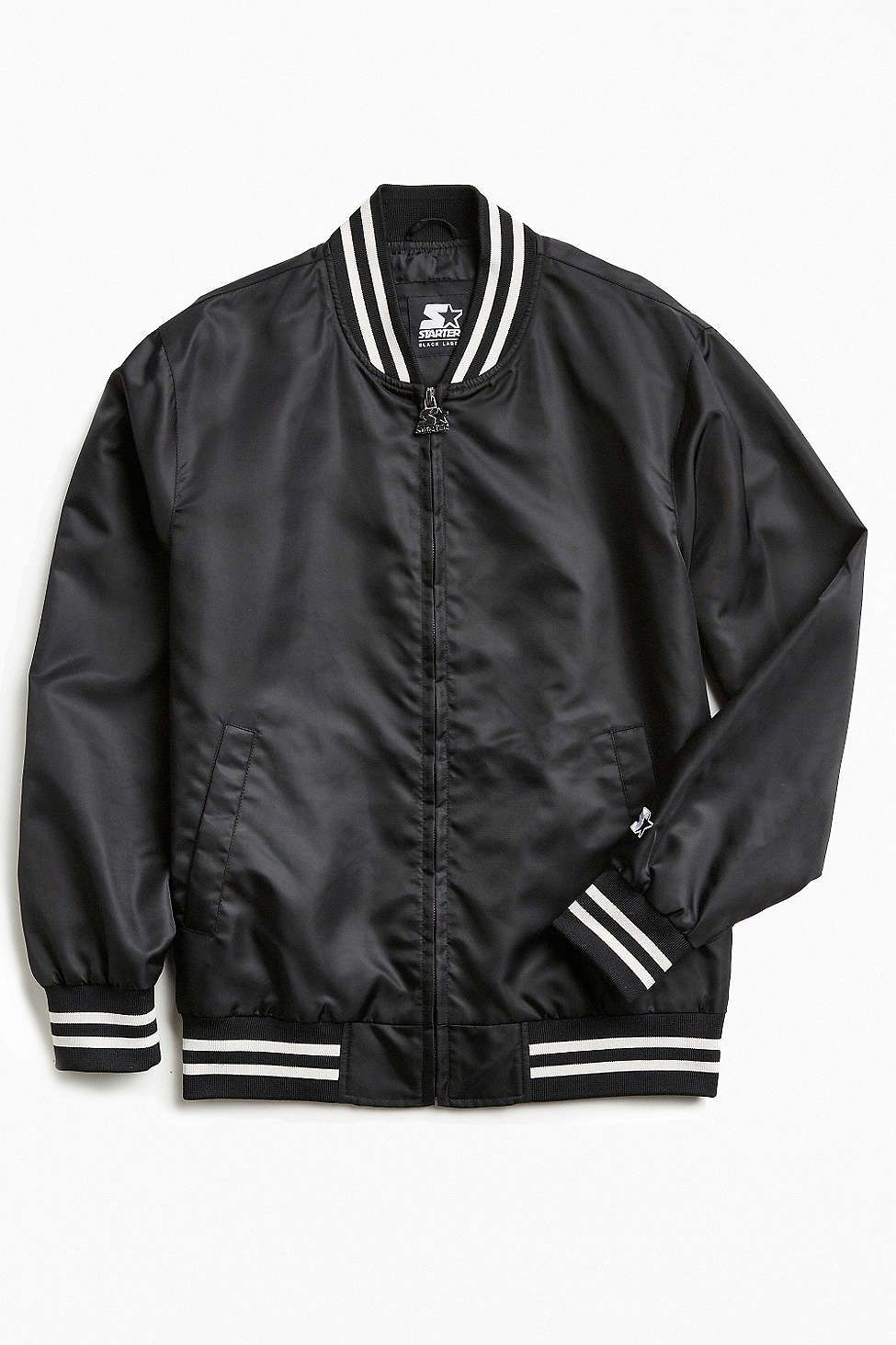 Starter Black Label Uo Athletic Bomber Jacket Stylish Bomber Jacket Bomber Jacket Men Bomber Jacket [ 1463 x 975 Pixel ]